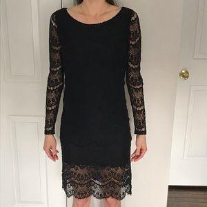 3aba00ca788 Blaque Label Lace Long Sleeve Midi Dress